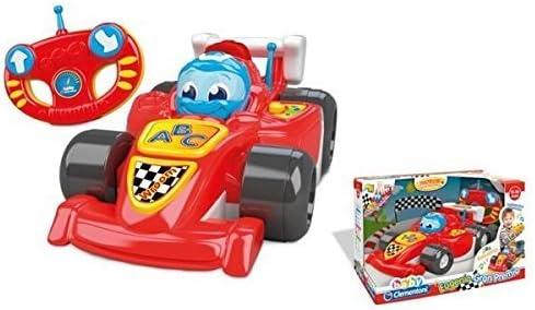 Baby Clementoni - Coche Eugenio de Carreras teledirigido (550463): Amazon.es: Juguetes y juegos