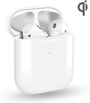 Amazon Com Wireless Charging Case For Airpods 1 Airpods 2