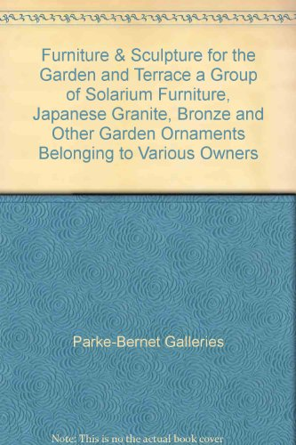 Furniture & Sculpture for the Garden and Terrace a Group of Solarium Furniture, Japanese Granite, Bronze and Other Garden Ornaments Belonging to Various Owners