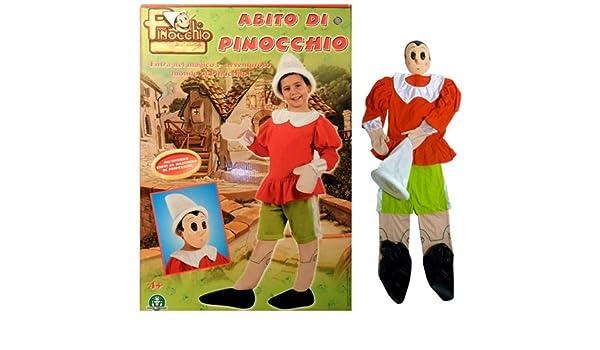 giochi preziosi disfraz de pinocho tg 2 cm 99: Amazon.es: Juguetes ...