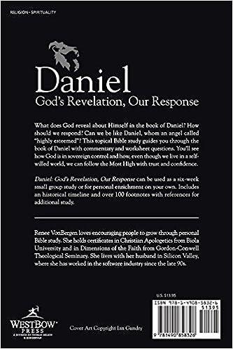Daniel: God's Revelation, Our Response: Renee VonBergen ...