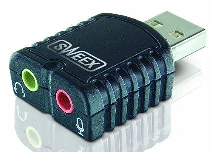 Amazon.com: Sweex adaptador de tarjeta de sonido USB [sc010 ...