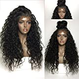 Rishang Hair 150% Density Brazilian Full Lace Human Hair Wigs with Baby Hair 13x6 Pre Plucked Lace Front Wig Glueless Human Hair Lace Front Wigs for Black Women (20inch full lace wig 150 density)