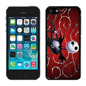 TYH - DIY,Personalized iPhone 4/4s Case Design with Jack Skellington in Black ending phone case