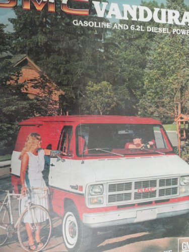 1983 GMC Vandura Sales Brochure