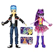 Amazon Lightning Deal 100% claimed: My Little Pony Equestria Girl 2 Pack Twilight And Flash