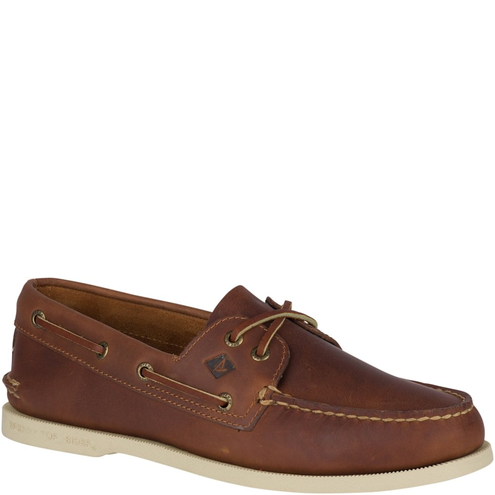 Sperry Top-Sider Men's a/O 2-Eye Pullup Boat Shoe, Tan, 10 M US by Sperry Top-Sider