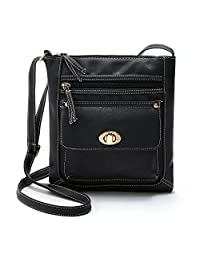 Tibes Casual Shoulder Strap Purse Women Corssbody Bag