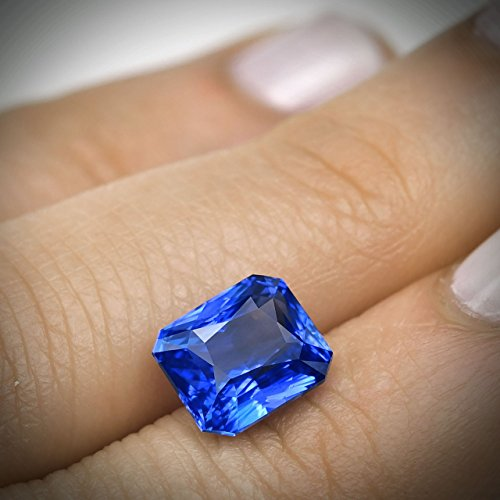 gold white products ring alternative baguette sapp sapphire large blue cornflower and engagement diamond
