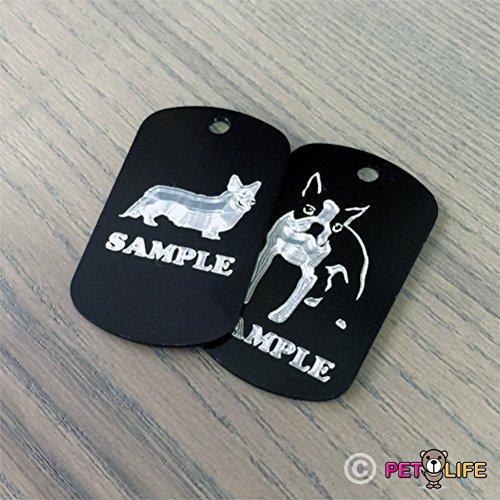 delicate Australian Cattle Dog Mom Engraved Keychain / GI Tag Mister