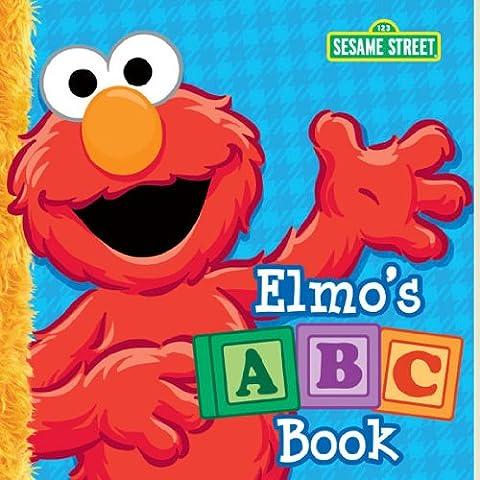 Elmo's ABC Book (Sesame Street) (Big Bird's Favorites Board Books) - Elmos Letter