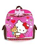 Small Backpack - Hello Kitty - Hello Kitty - Teddy Bear New School Bag 630324