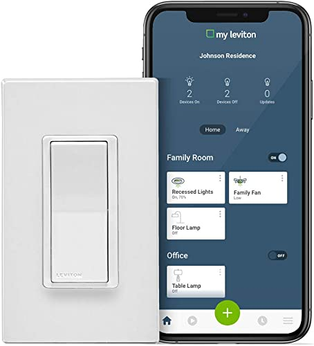 Leviton DW15S-1BZ Decora Smart Wi-Fi