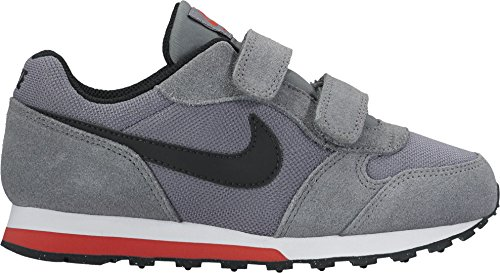 Nike Md Runner 2 (Psv), Zapatillas de Deporte Niños Varios colores (Gris / Negro / Cool Grey / Black / Max Orange / White)