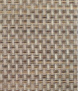Phifertex PVC Wicker Weaves   Veranda Nutmeg Fabric   By The Yard