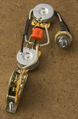 51Qwda97wUL amazon com telecaster wiring harness for fender tele cts orange telecaster wiring harness at gsmportal.co