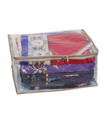 Kuber Industries PVC Saree Bag