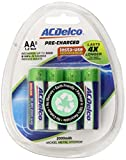 ACDelco AA NiMH Precharged Rechargeable Batteries, 8-Count