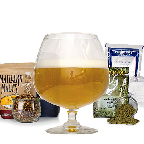 Belgian Tripel Malt Extract Light Ale With Specialty Grains Home Brewing Recipe Kit - 5 Gallons Beer Making ()