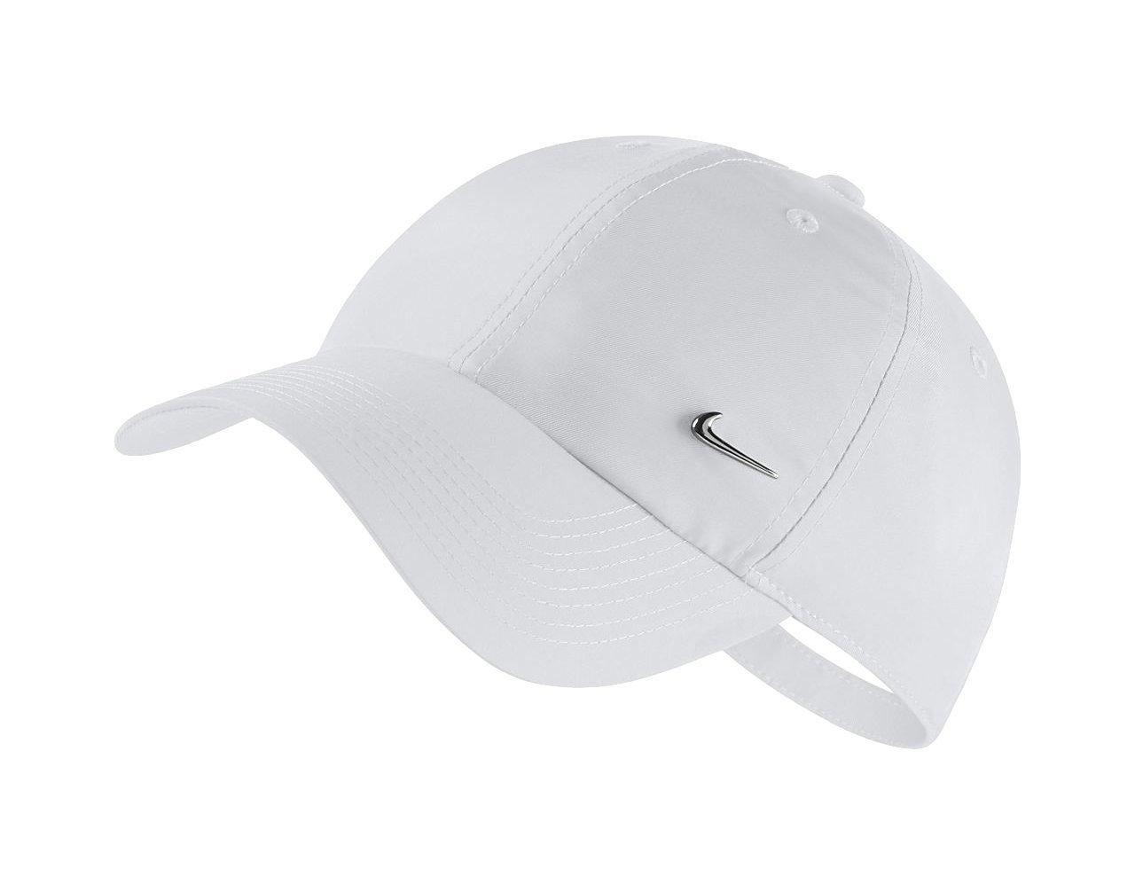 NIKE Unisex Sportswear Heritage86 Cap (White, One Size)