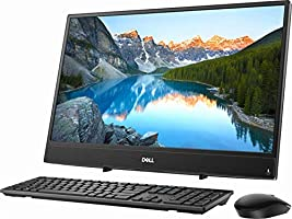 """2018 Flagship Dell INSPIRON 3000 23.8"""" Full HD IPS Touch-Screen All-In-One Business Desktop, AMD Dual-Core A9-9425 up to 3.7GHz 8GB DDR4 256GB SSD HDMI USB 3.0 Bluetooth 4.1 802.11ac MaxxAudioR Win 10"""