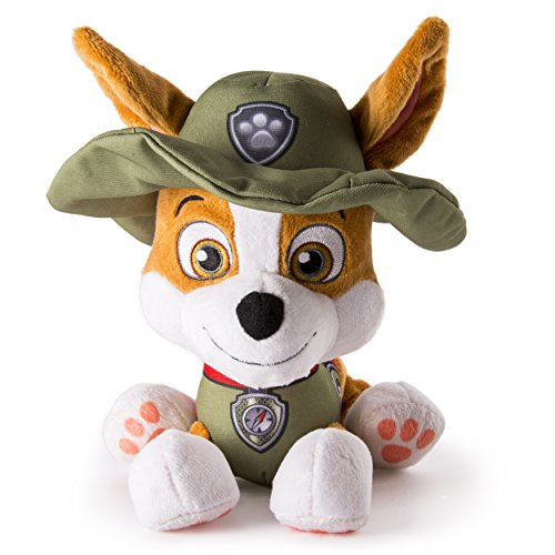 Nickelodeon Paw Patrol Jungle Rescue Tracker Plush Pup, New