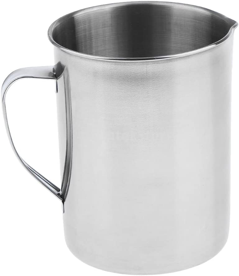 Milk Frothers Almencla 2000ml Stainless Steel Milk Frothing Pitcher Latte Art Perfect for Espresso Machines with Graduation