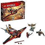 LEGO 70650 NINJAGO Destiny's Wing Toy Jet Plane, Kai and Jet Jack Minifigures, Airplane Building Sets for Kids