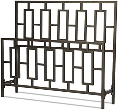 Miami King Bed without Frame, Coffee Finish