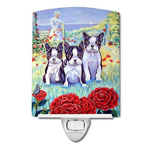 Caroline's Treasures Boston Terrier Trio Ceramic Night Light, 6x4'', Multicolor by Caroline's Treasures