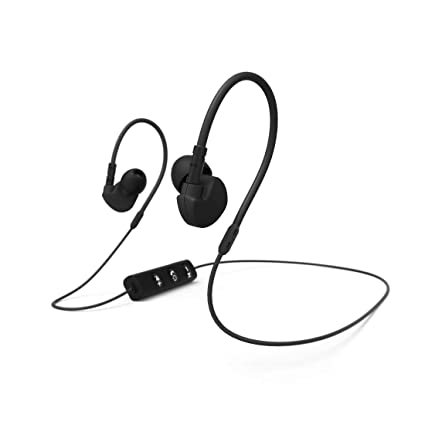 Hama Run BT Dentro de oído Binaural Inalámbrico Negro - Auriculares (Inalámbrico, Dentro de