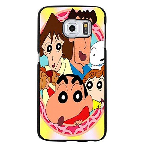 Coque Samsung Galaxy S6 Edge Plus Phone Case Crayon Shin-chan Cute Family Colorful Shell Cover,Cas De Téléphone