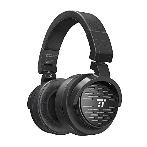 TaoTronics Bluetooth Headphones with 50mm Large-Aperture Drivers, Deep Bass, Memory Foam Ear Pad Wireless Headphones, 25 Hour Playtime, On Ear Controls, aptX, Adjustable & Ergonomic Design