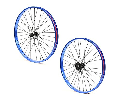 Set of Bicycle Rims (26x32mm; Front & Rear; Anodized - Anodized Parts Bike