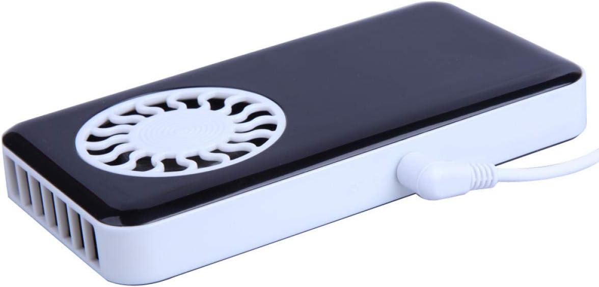 Black Hand-held Ultra-Thin Cooler Mini Fan