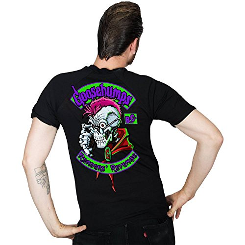 - Men's Kreepsville Goosebumps Readers Revenge T-Shirt Black S