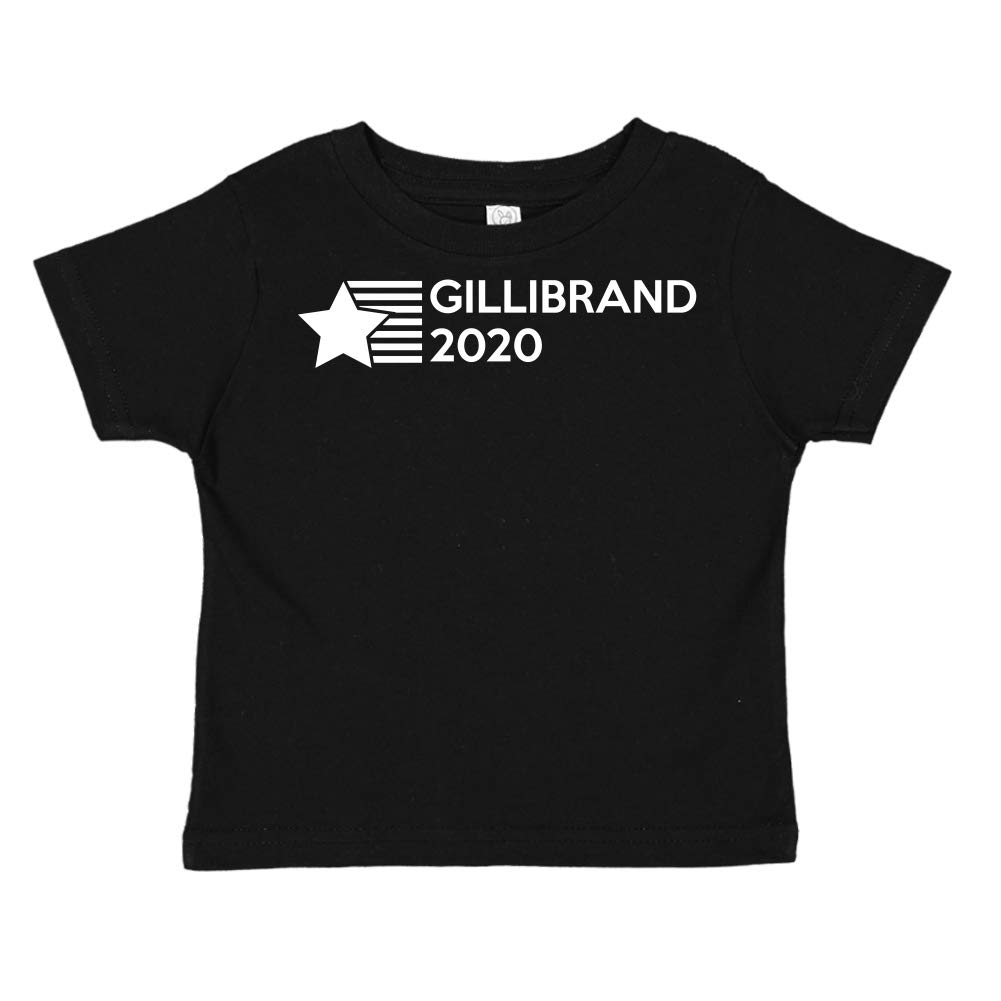 Presidential Election 2020 Toddler//Kids Short Sleeve T-Shirt Star//Stripes Mashed Clothing Gillibrand 2020