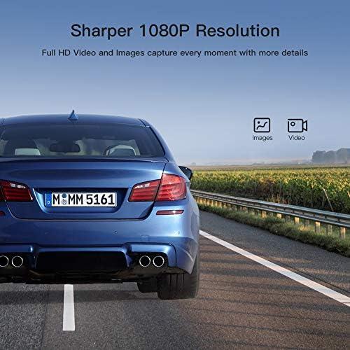 APEMAN Mini Dash Cam 1080P Dash Camera for Cars Recorder Super Night Vision 170 Wide Angle Motion