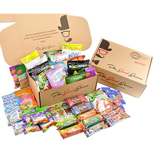 60off Healthy Snacks Care Package 46 Count By The Good Grocer