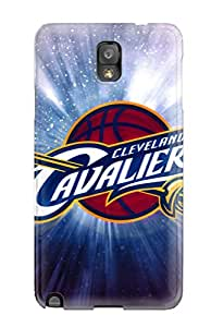 Egbert Drew's Shop New Style Slim Fit Tpu Protector Shock Absorbent Bumper Cleveland Cavaliersnba Basketball Case For Galaxy Note 3 2282638K50913300