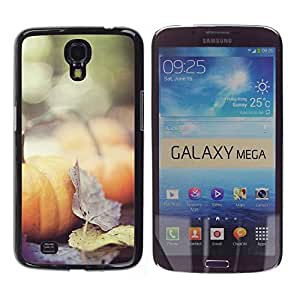 Paccase / SLIM PC / Aliminium Casa Carcasa Funda Case Cover para - Rainbow Summer Sun Field Flowers - Samsung Galaxy Mega 6.3 I9200 SGH-i527