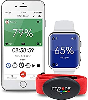 Amazon com : MYZONE MZ-3 Physical Activity Belt : Sports & Outdoors