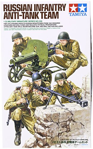 Tamiya Models Russian Infantry Anti-Tank Team