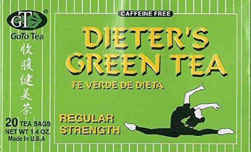 Dieter's Green Tea (Regular Strength) (20 Tea Bags) (2-Pack)… Review