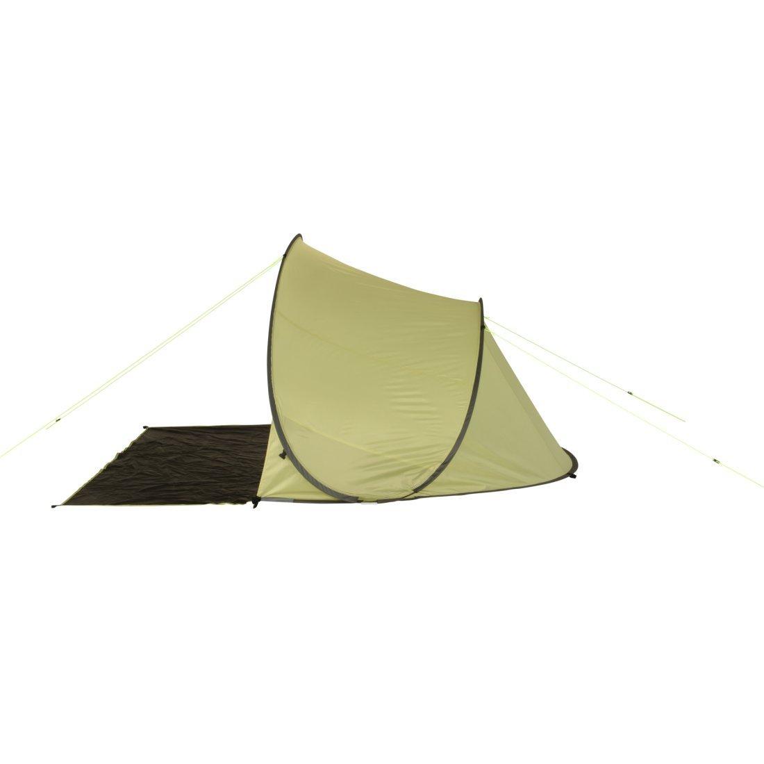 10T Pop-Up Strandmuschel Bahamas UV 80 Strandzelt 3 Mann Sonnenschutz XL Familien Windschutz Zelt