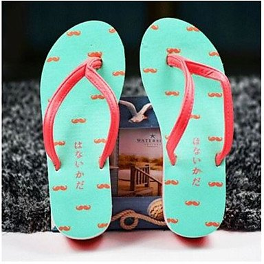 Slippers 2017 Handmade US5 Shape RTRY UK3 CN35 Women'S Printed Creative 5 3D Personality 5 Beach EU36 zq4wdSn