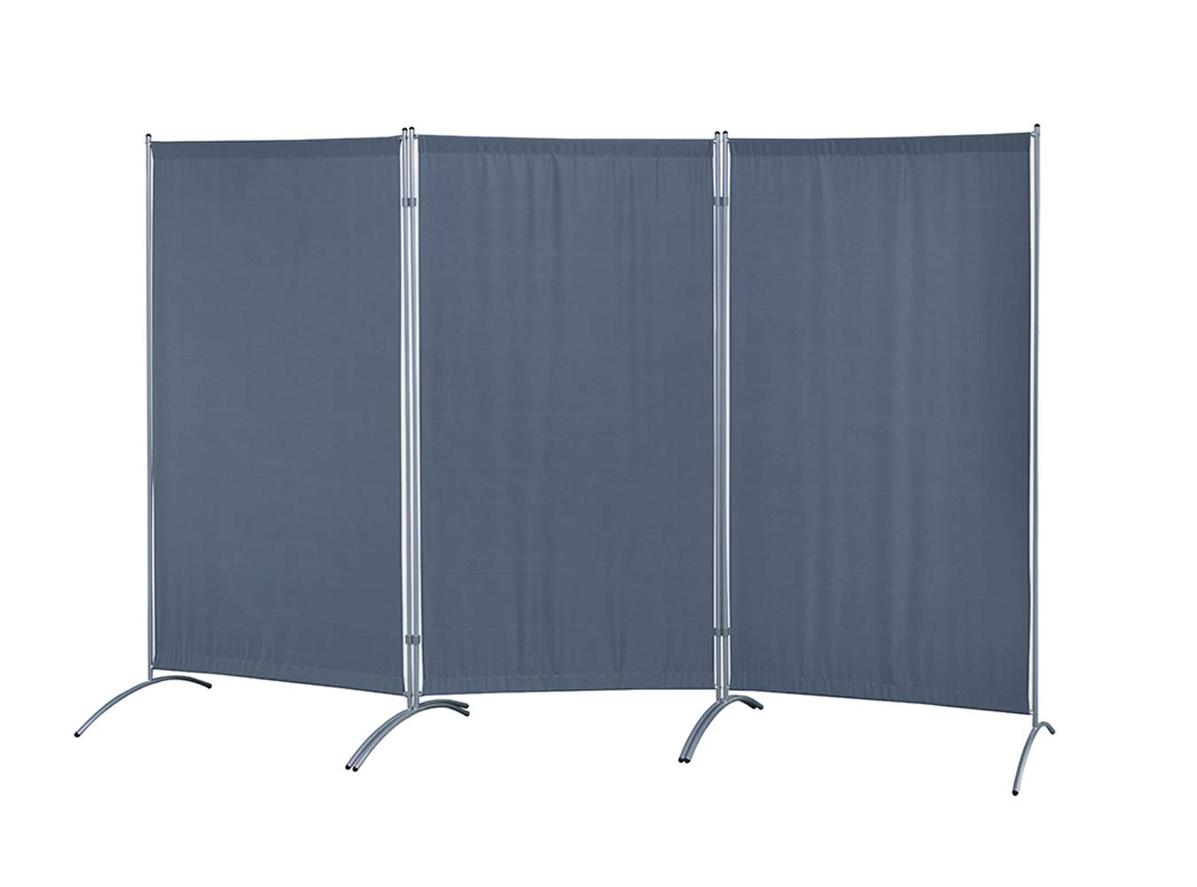 Proman Products Galaxy Indoor Room Divider (3-Panel), 102'' W x 23'' D x 71'' H, Gray by Proman Products