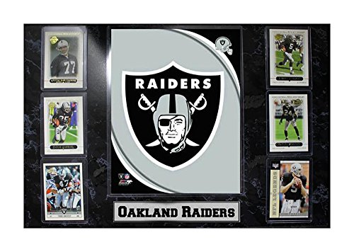 - Encore Select 531-23 NFL Oakland Raiders 6-Card Plaque, 13-Inch by 37-Inch