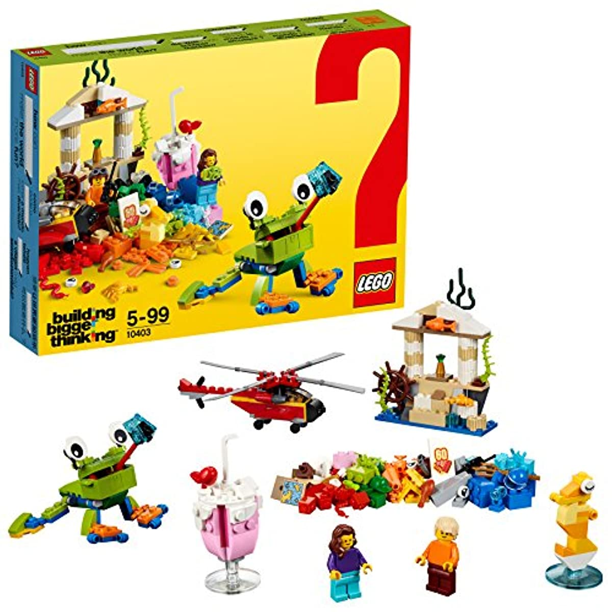 [해외] 레고(LEGO) 클래식 무엇이 있으면 세계는 즐겁게 된? 10403