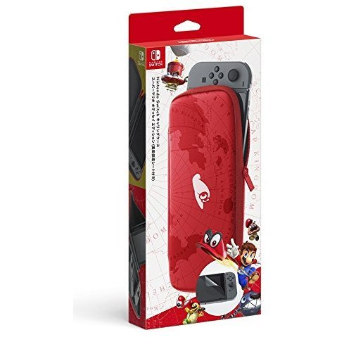 Nintendo Switch Carrying Case   Screen Protector   Mario Odyssey Edition